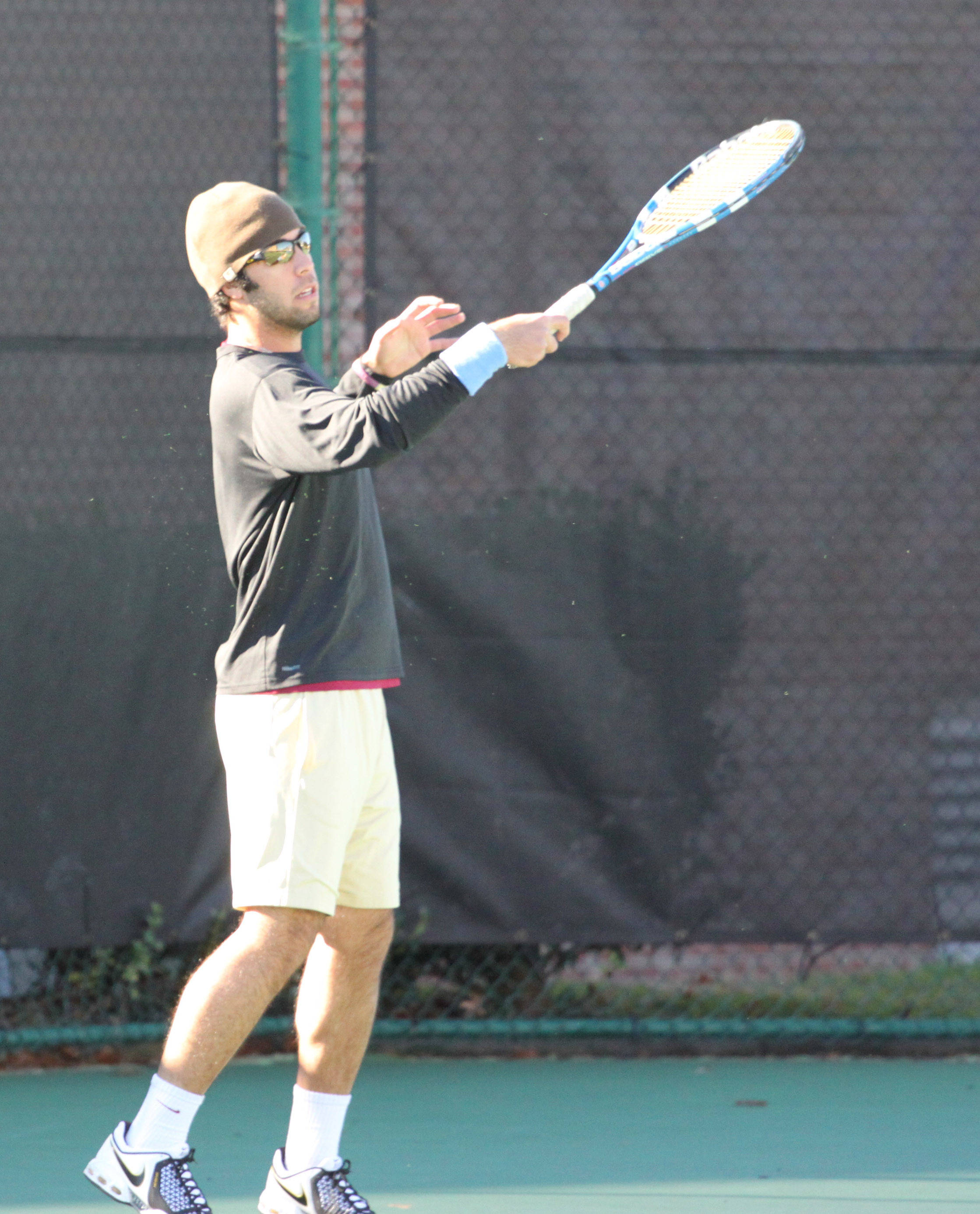 Vahid Mirzadeh First Tennis Practice