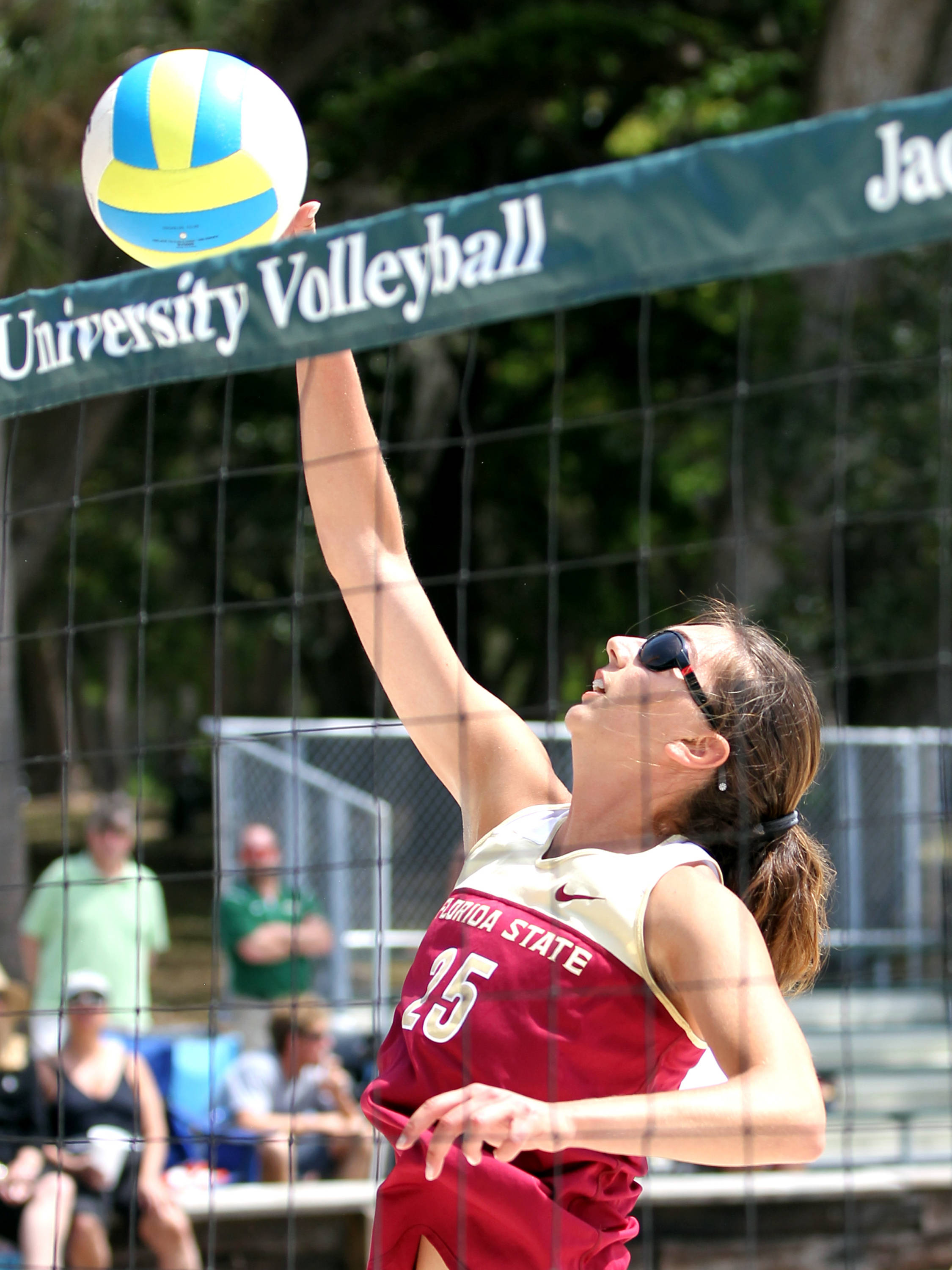 Fatma Yildirim, FSU vs Jacksonville, 03/30/13 . (Photo by Steve Musco)