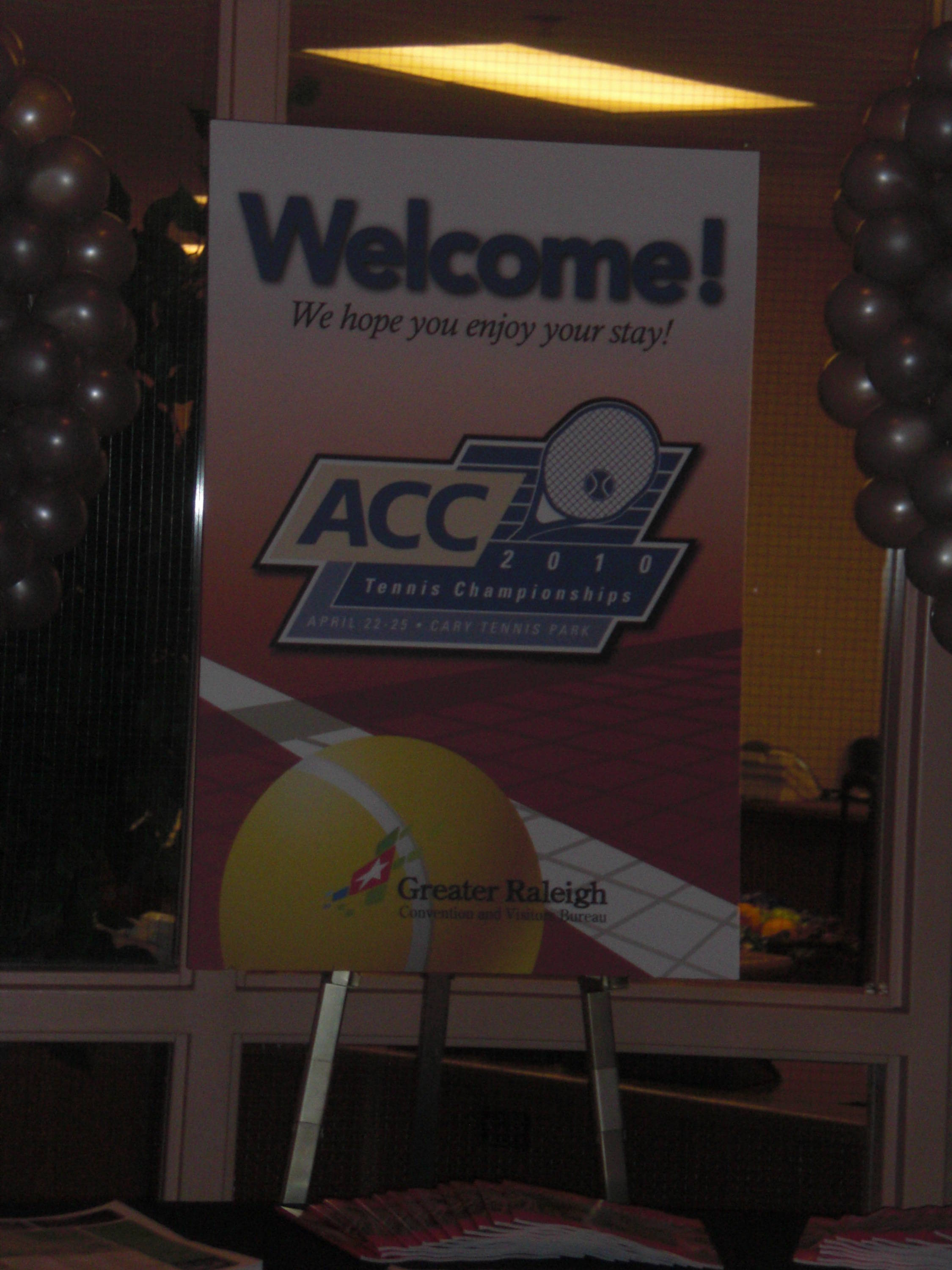 ACC Championships Practice