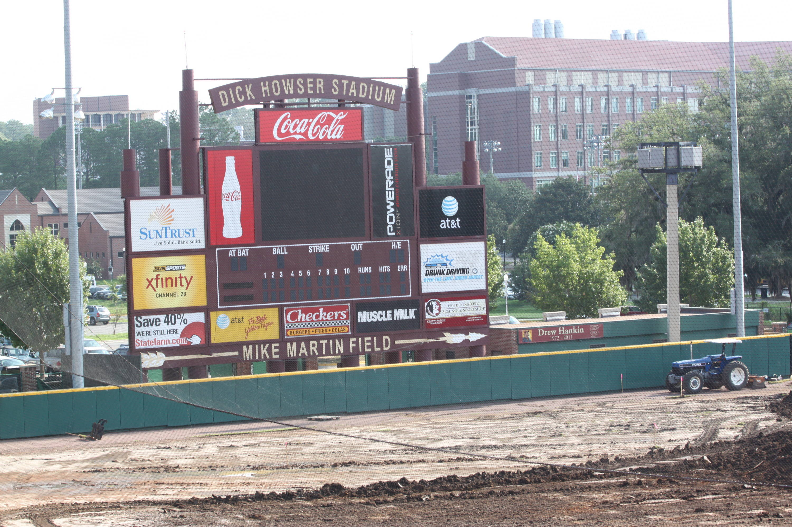 Mike Martin Field Redesign