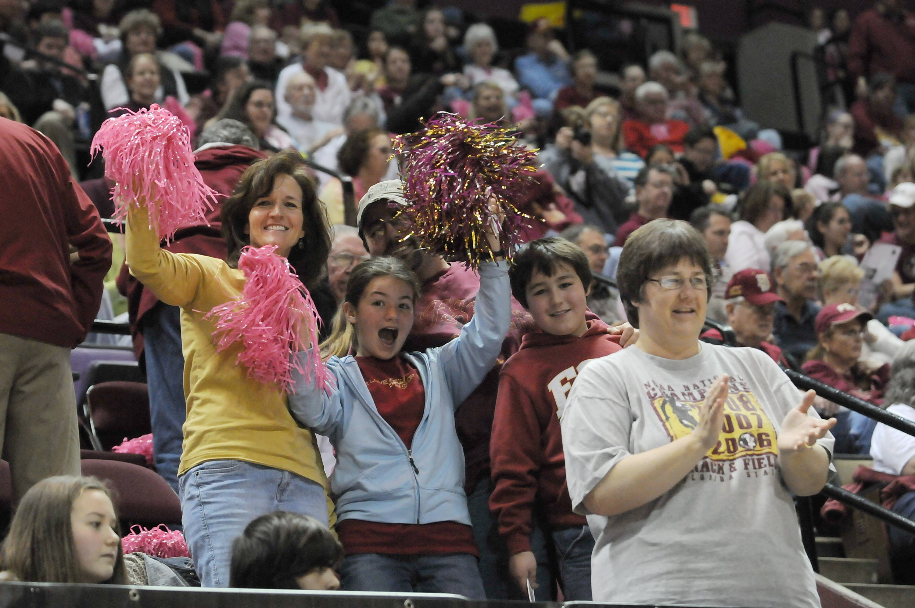 August 14 ... Florida State has the best fans in all of college basketball. The question is, are you ready to fuel FSU's fire this season? If so, get your tickets and get loud as the Seminoles begin the 2010-11 season in just a few short months.