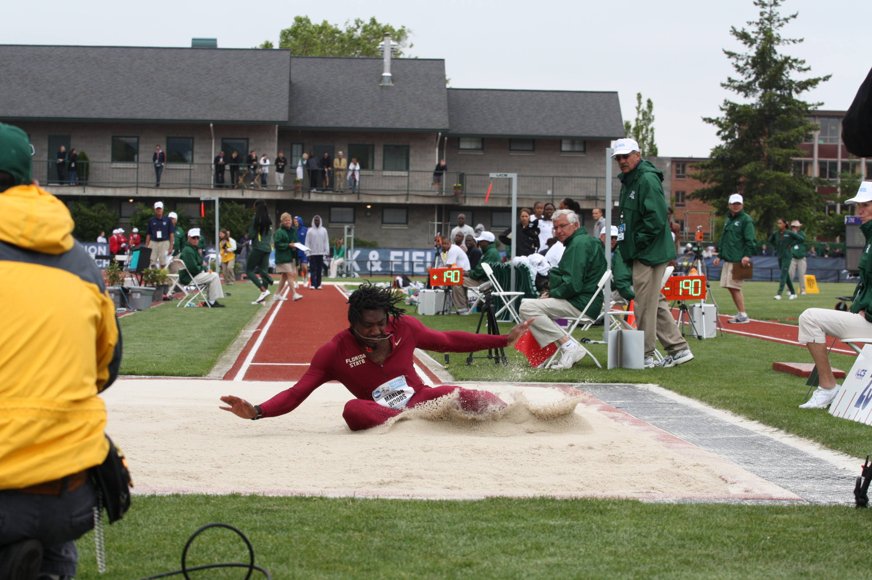 The last day of the 2010 NCAA Outdoor Championships.