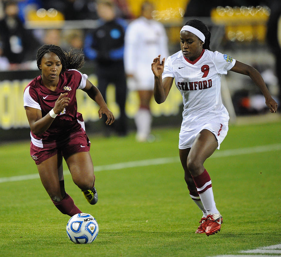 Jamia Fields - 2011 College Cup