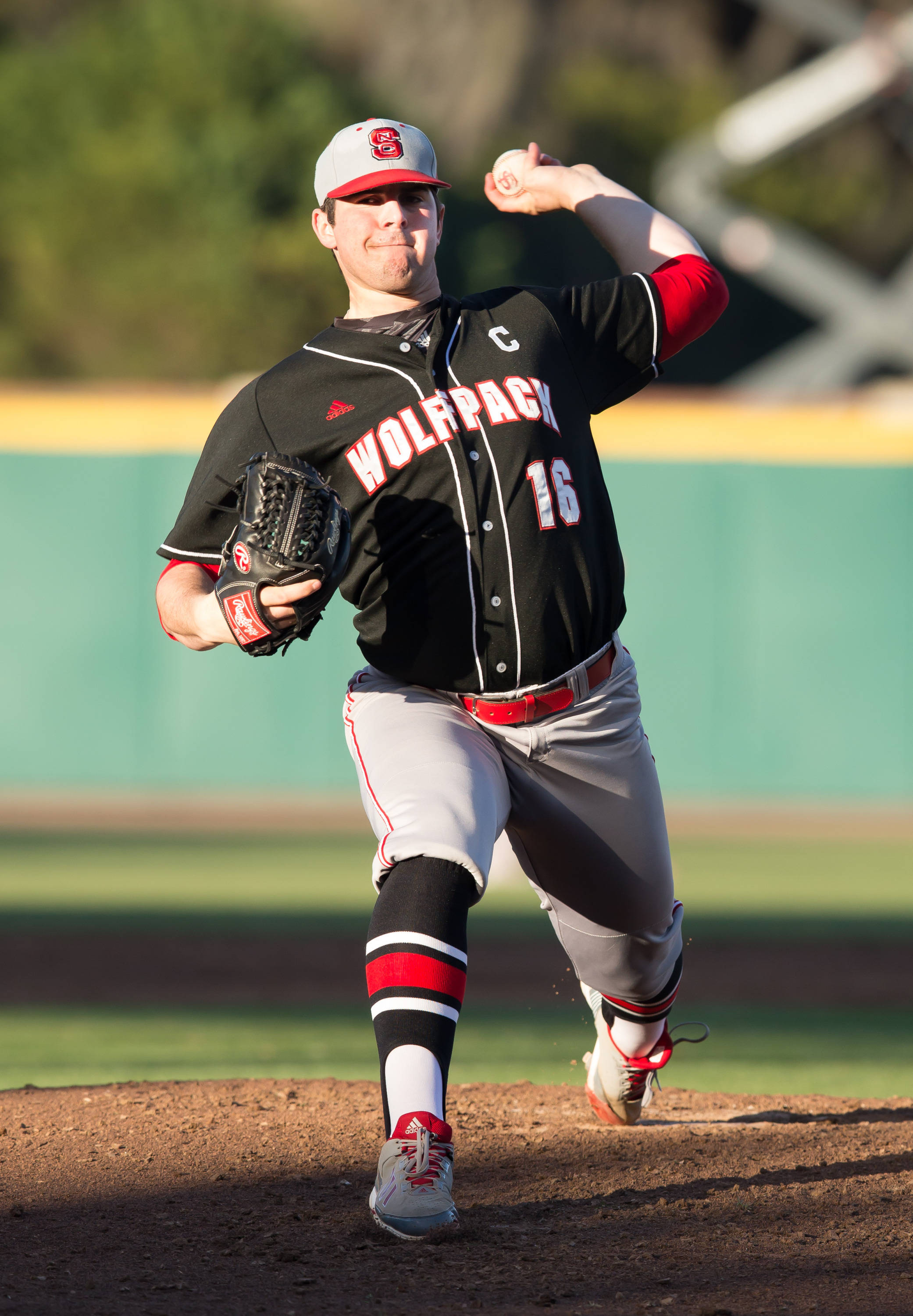 N.C. State pitching ace Carlos Rodon pitched well in a losing effort.