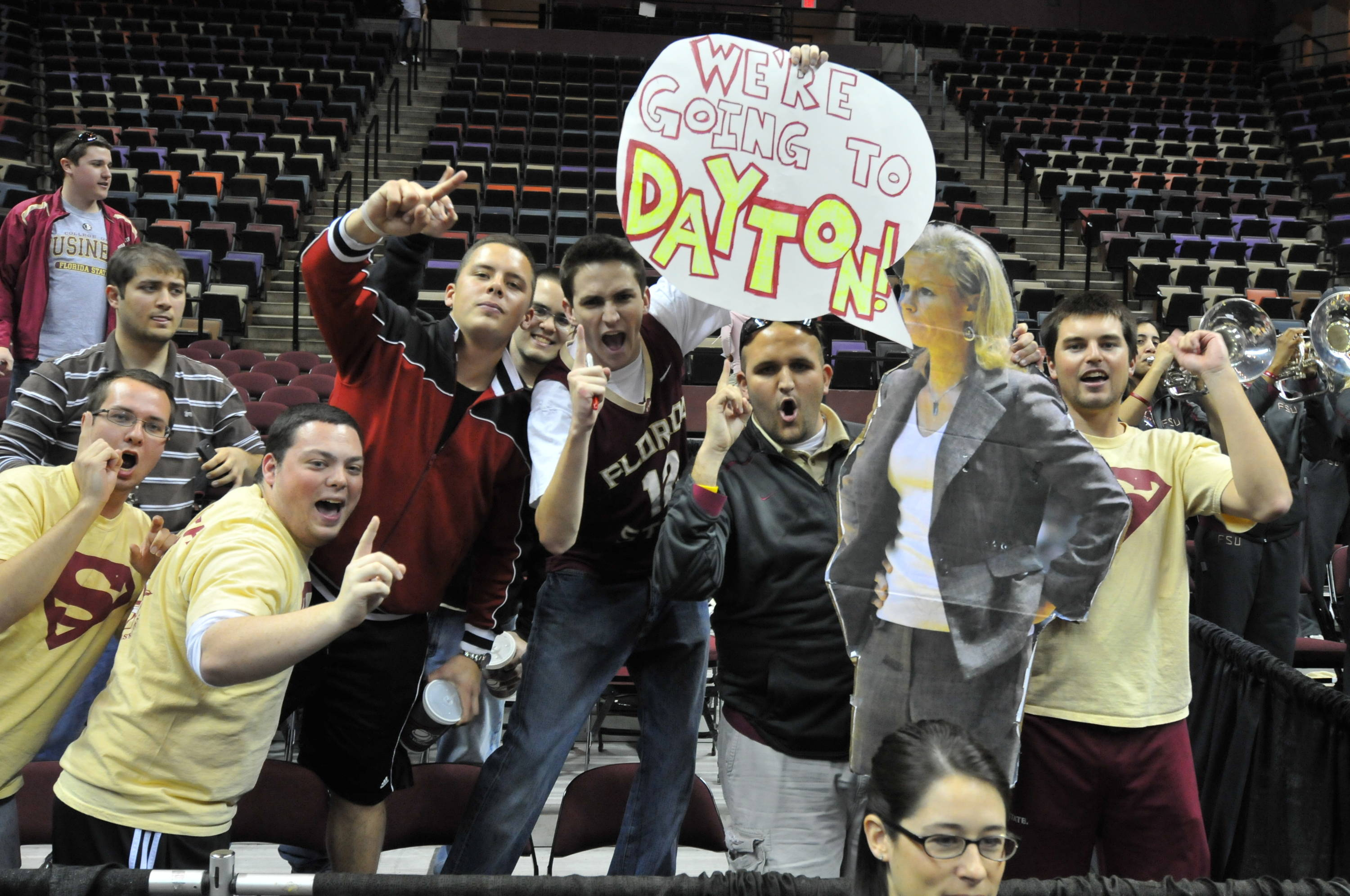 Sept. 2 ... Florida State has the best women's basketball fans in the entire country. Here the SUEper Fans show their support.