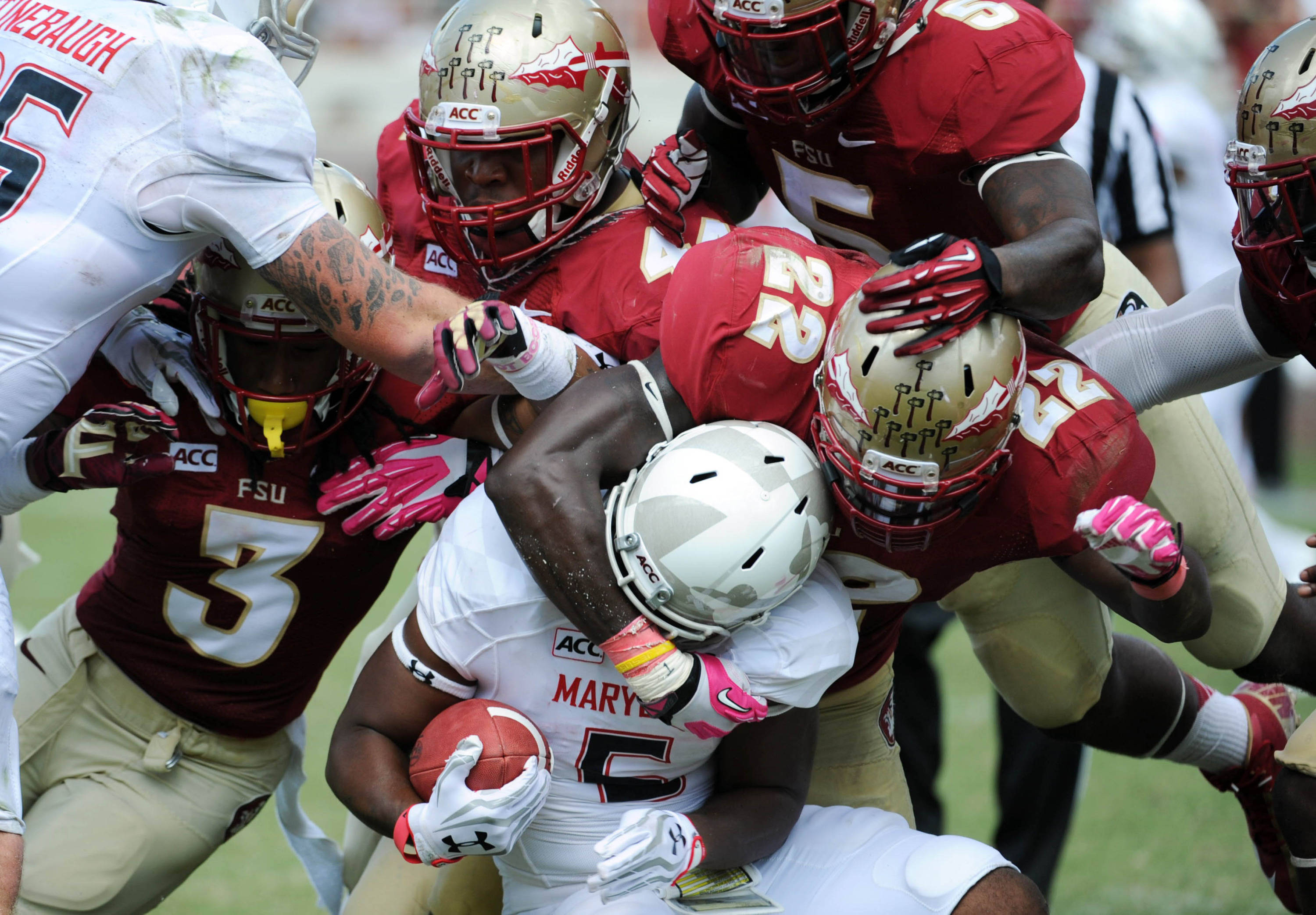Game preview no 5 fsu vs no 3 clemson oct 5 2013 tallahassee fl usa maryland terrapins running back albert voltagebd Image collections
