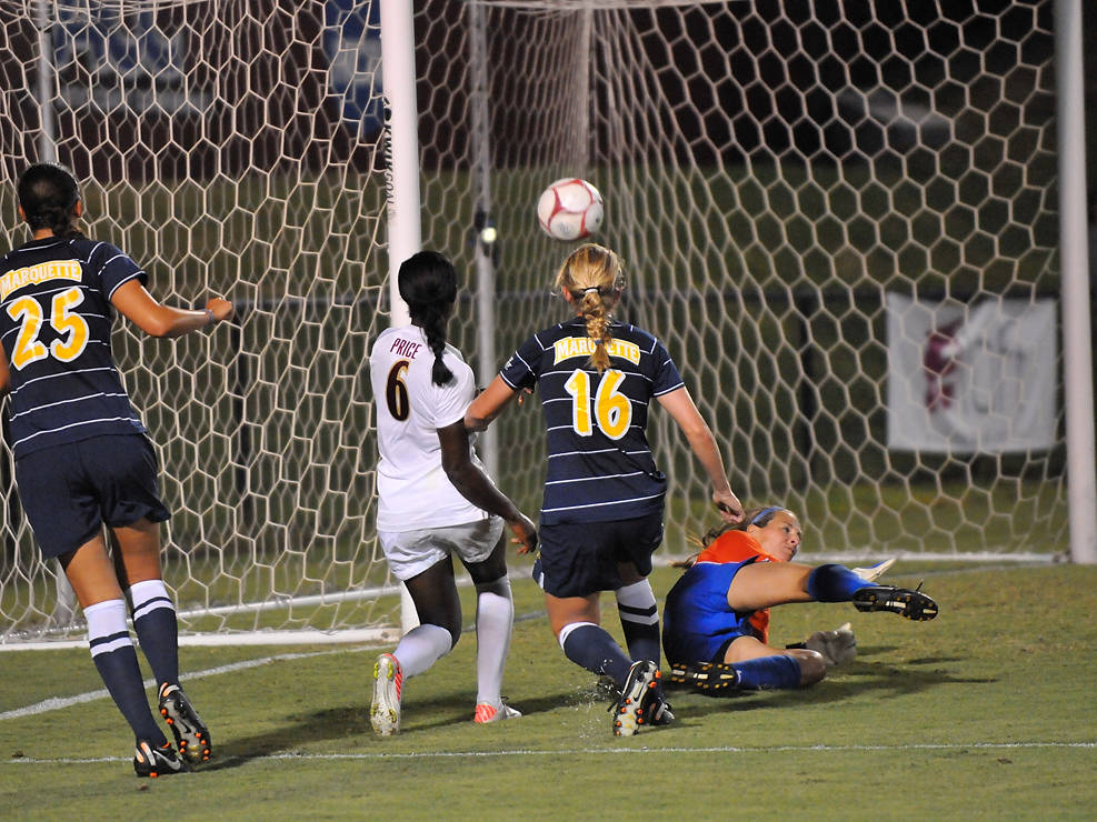 Jessica Price scores the game-winner in the 65th minute good for her second goal of the season.