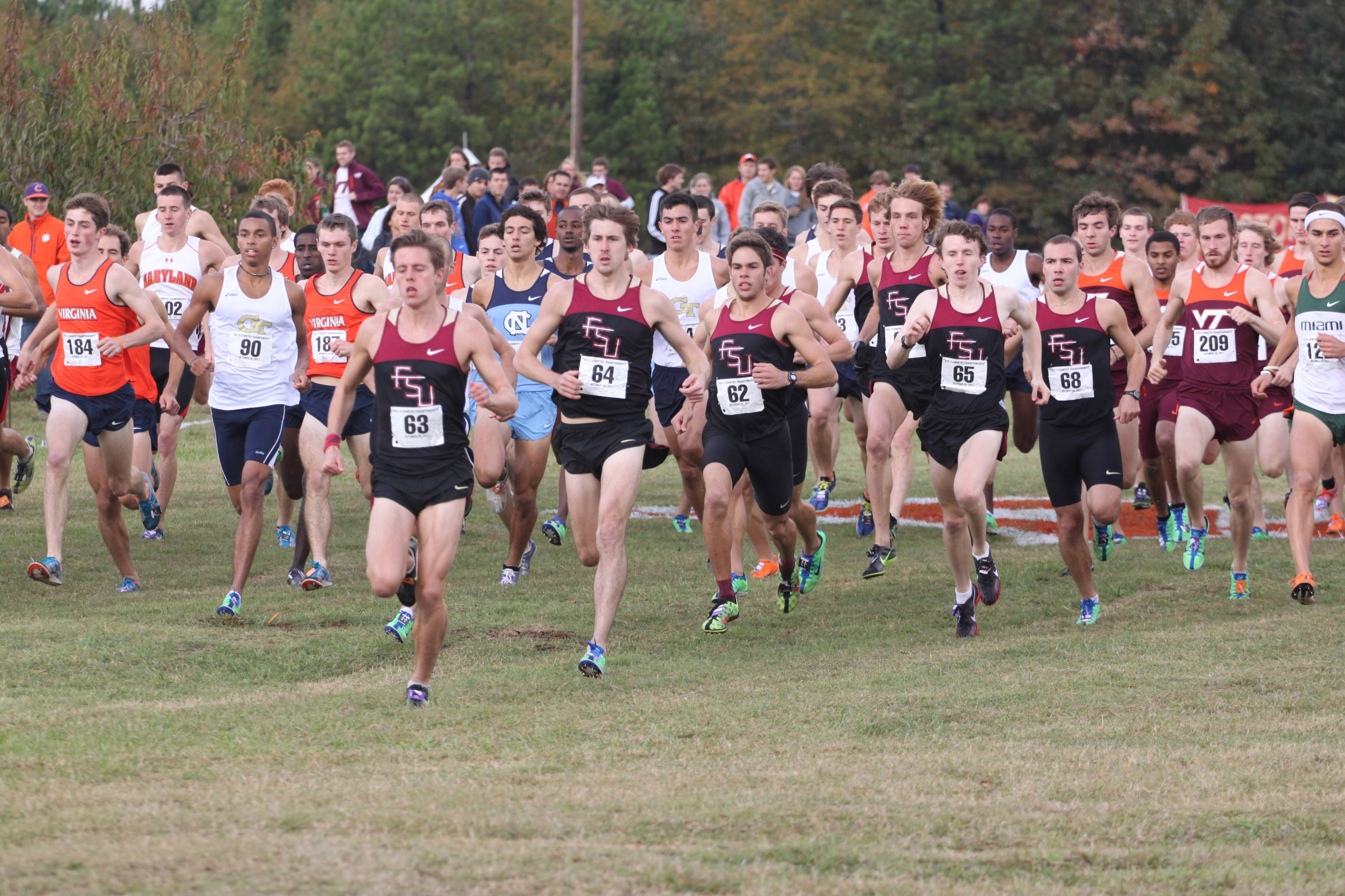 FSU men finished second at ACC Championship