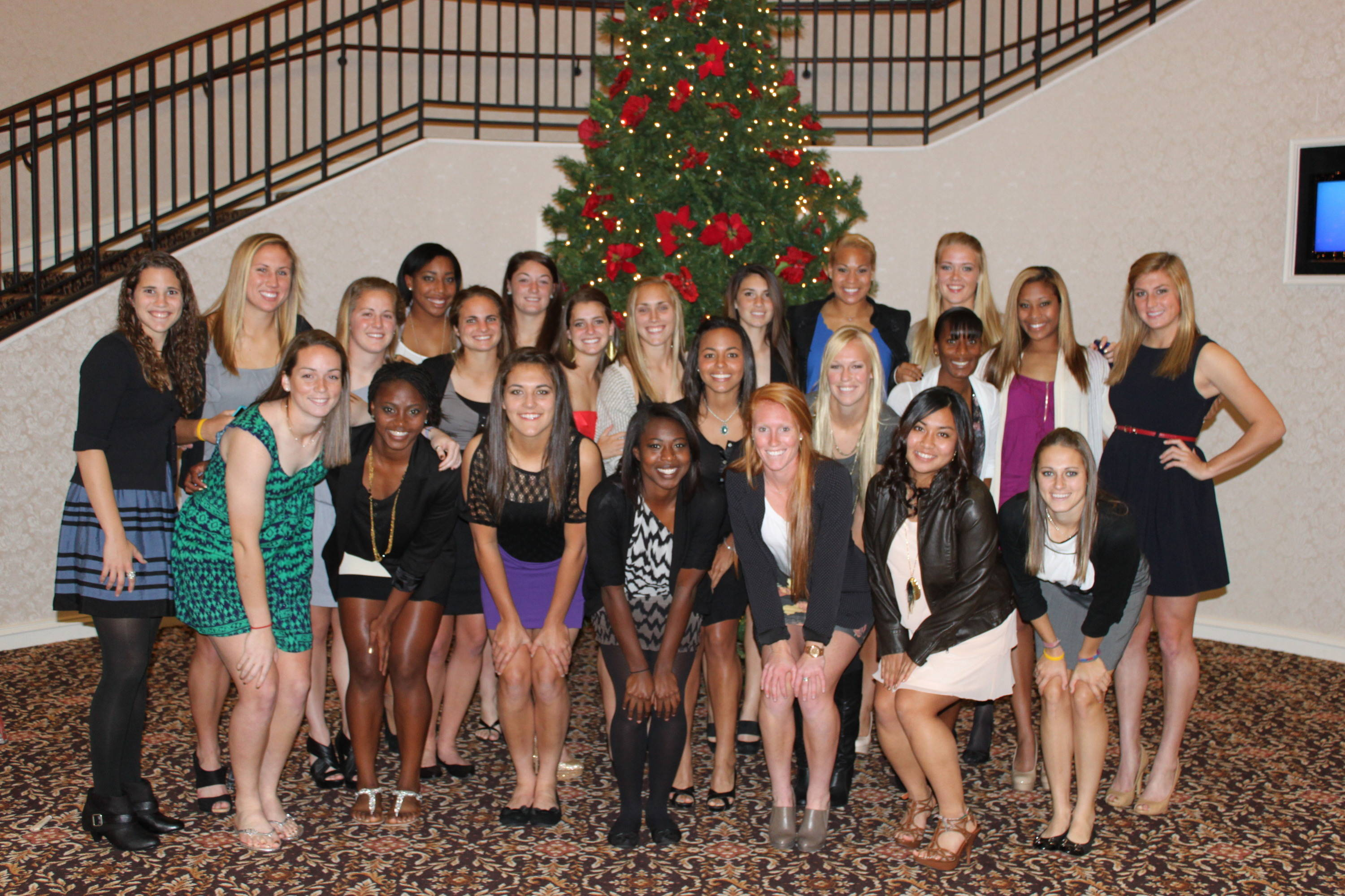 Happy Holidays from the Florida State Soccer Team!