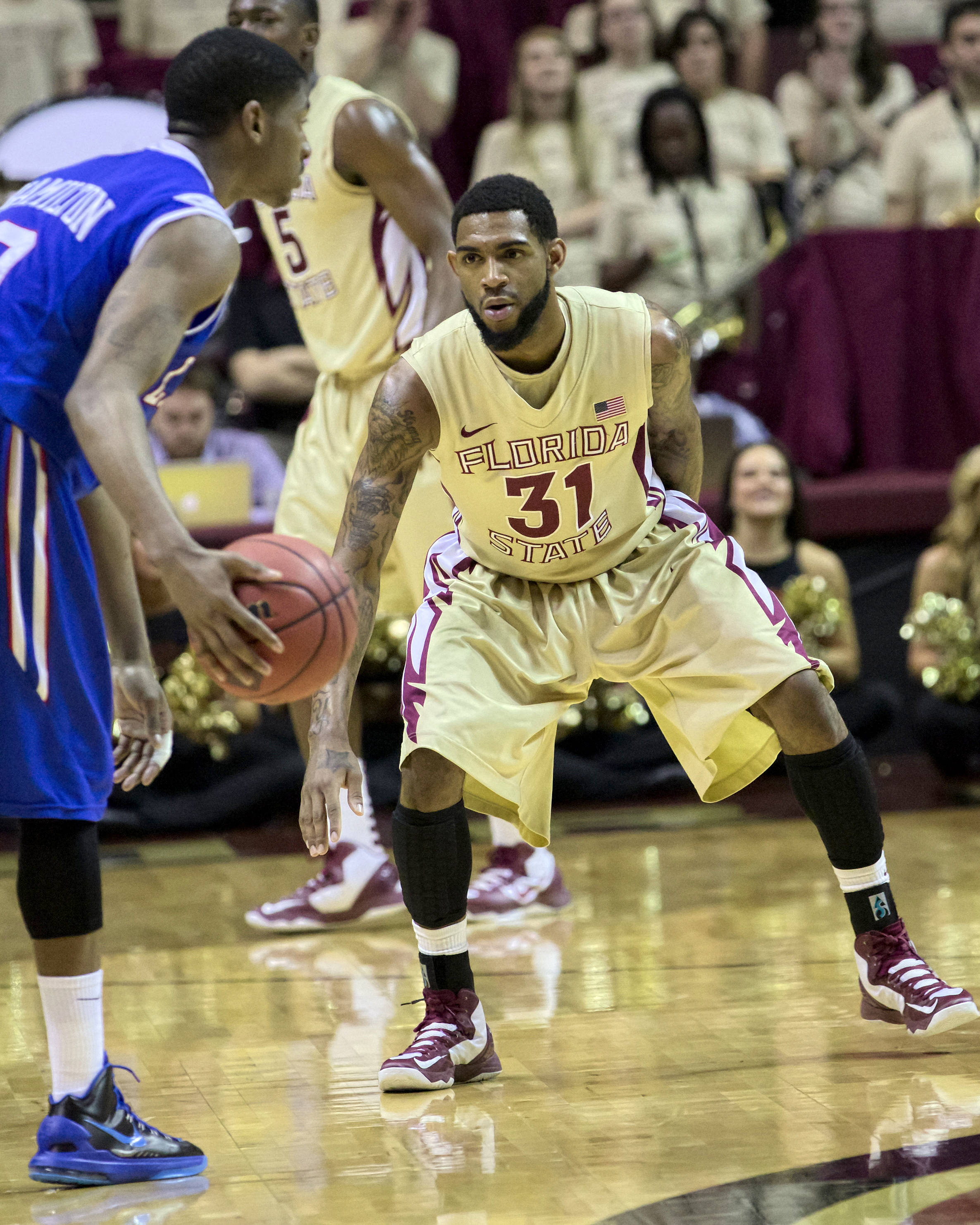 Terry Whisnant (31), NIT First Round, FSU vs Louisiana Tech, 03/19/13 . (Photo by Steve Musco)