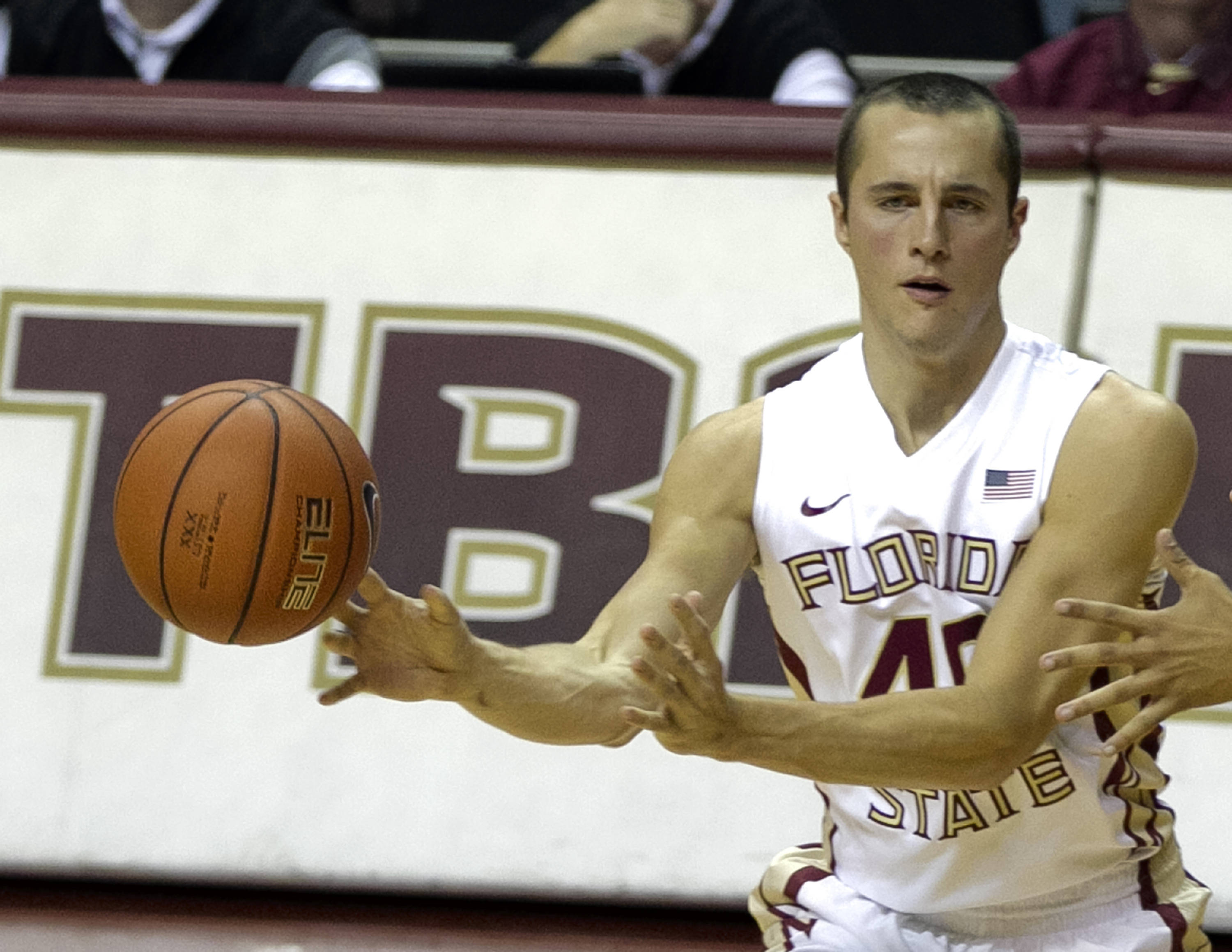 Brandon Allen, FSU vs Flagler College,  11-4-13, (Photo by Steve Musco)