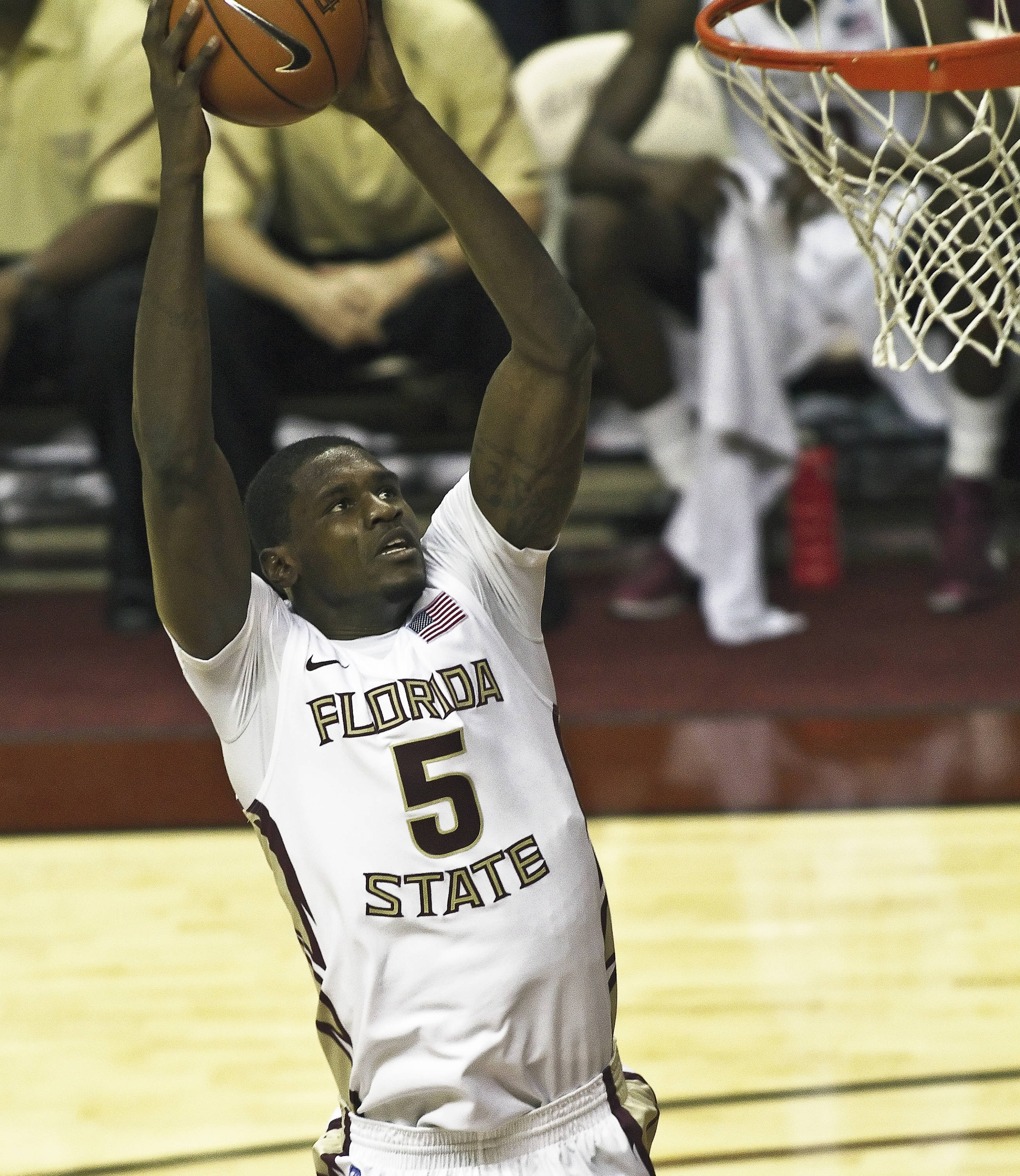 FSU vs Rollins - 11/03/2010 - Bernard James (5)