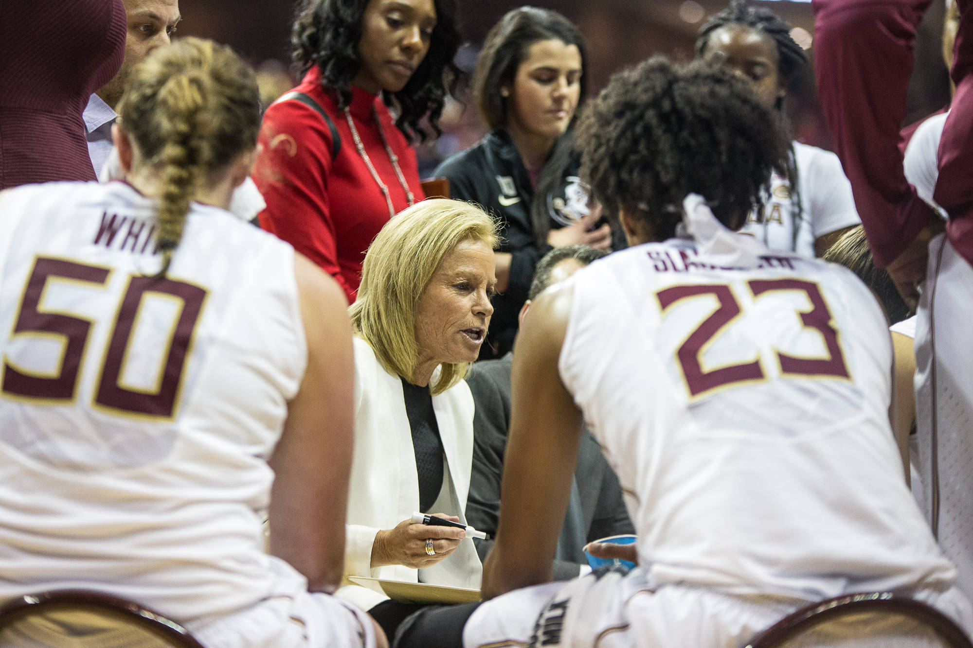 In a 73-62 season-opening win over Jacksonville State on Nov. 11, Head Coach Sue Semrau coached in her 600th game with Florida State.