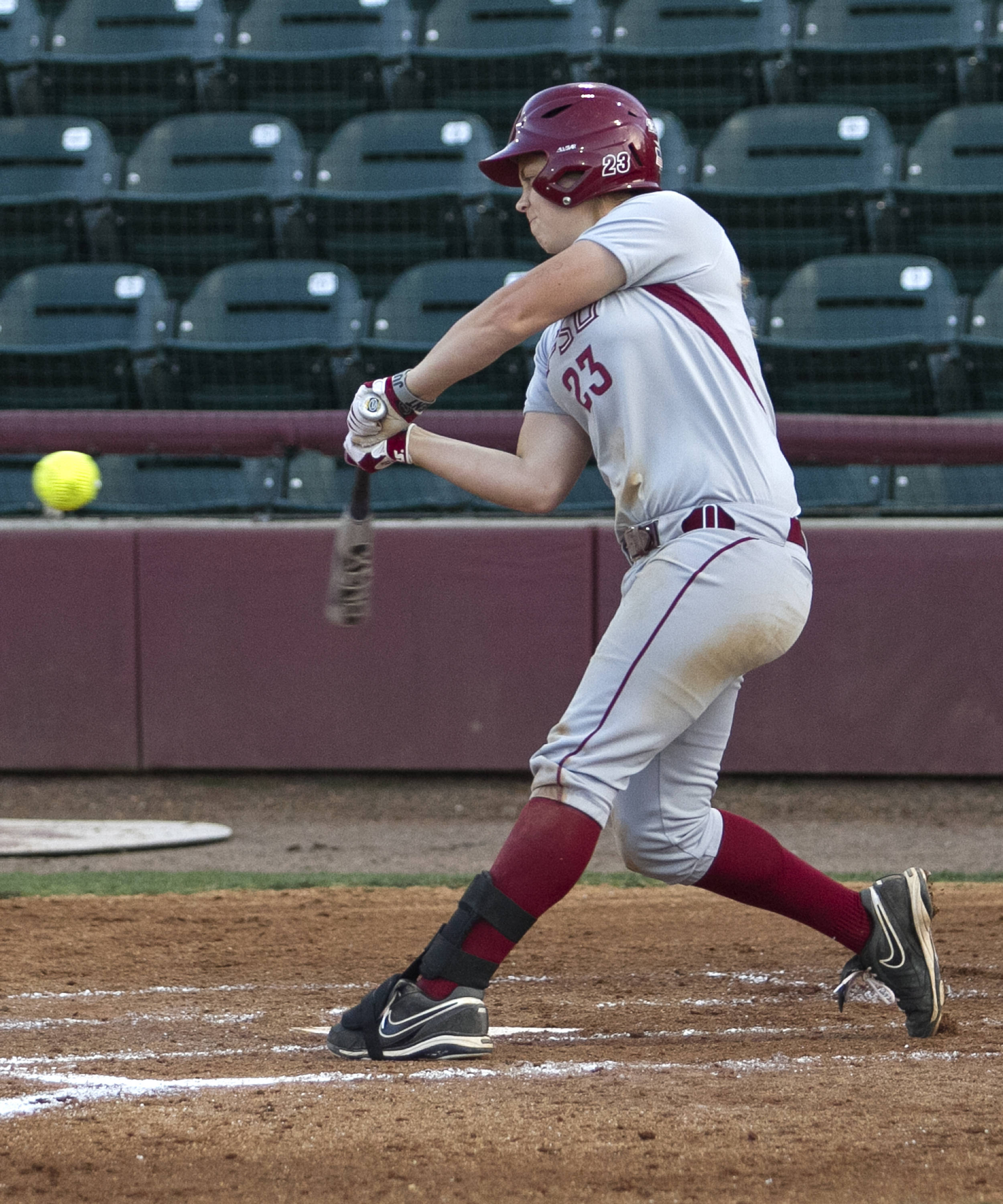 Kelly Hensley, FSU Softball vs FGCU 2,  03/29/2012