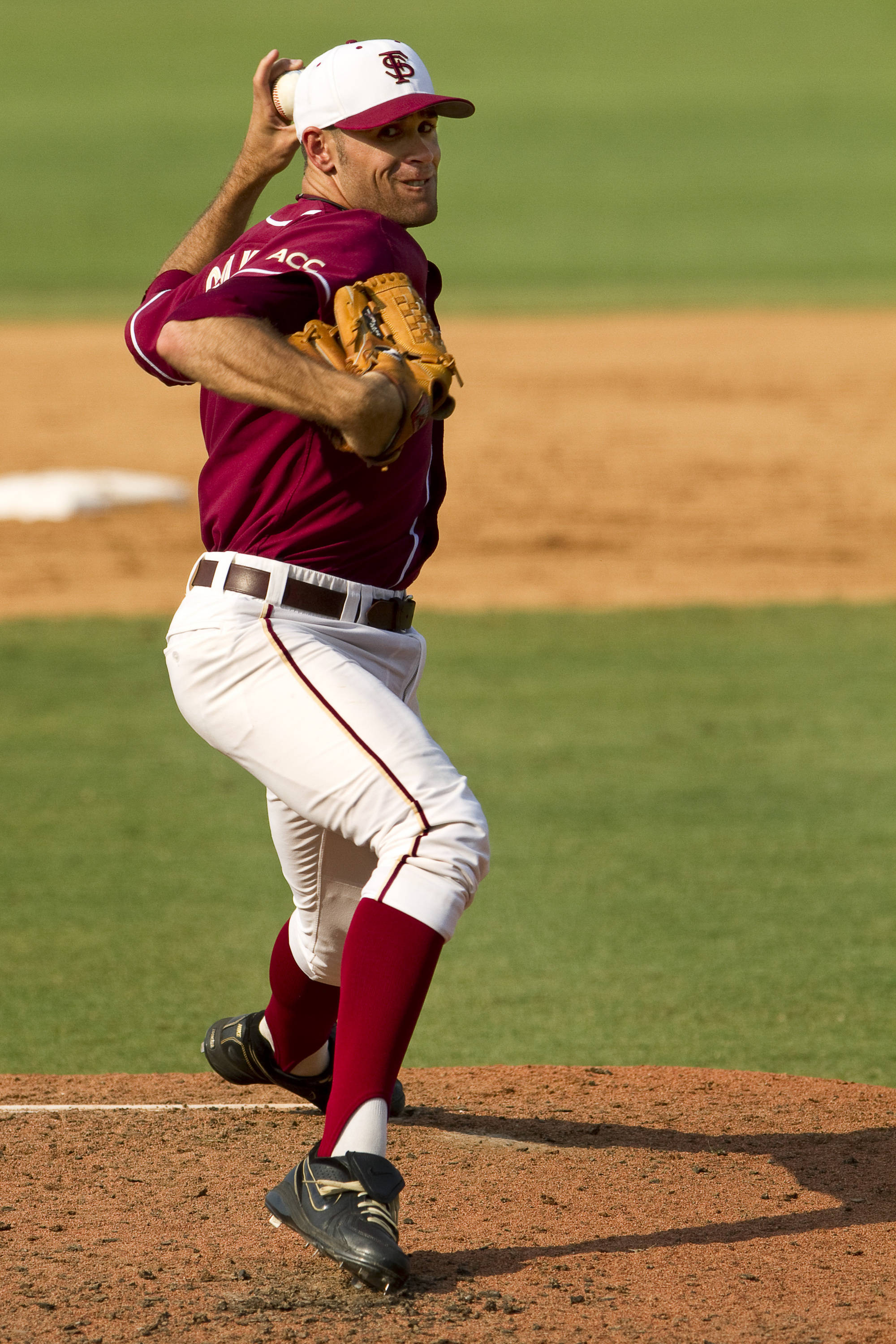 Sean Gilmartin (3) pitches in Saturday's game against Texas A&M.