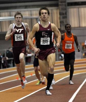 The 2010 ACC Indoor Championships; Photos by Michael Shroyer.