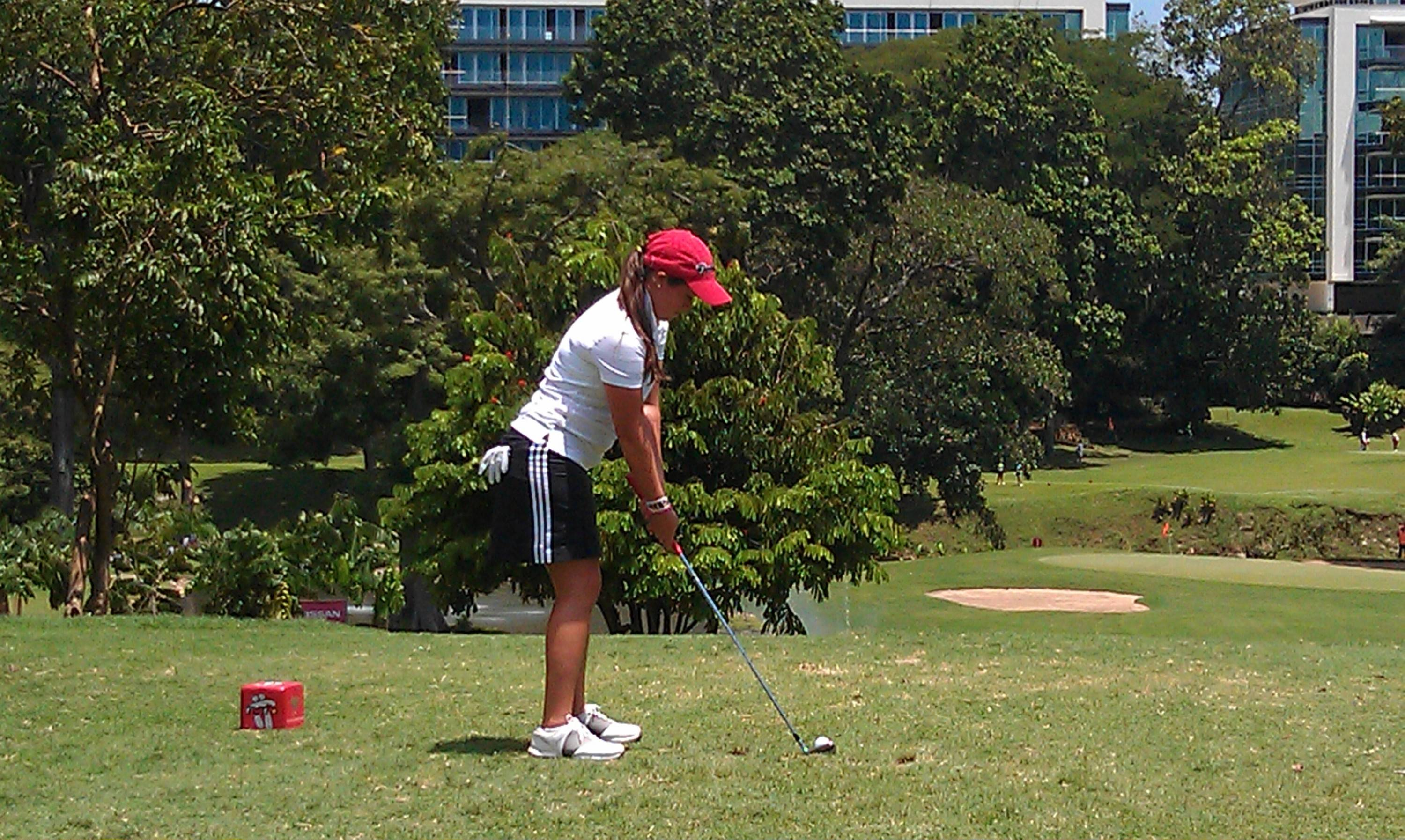 Maria Salinas at 2011 South American AM