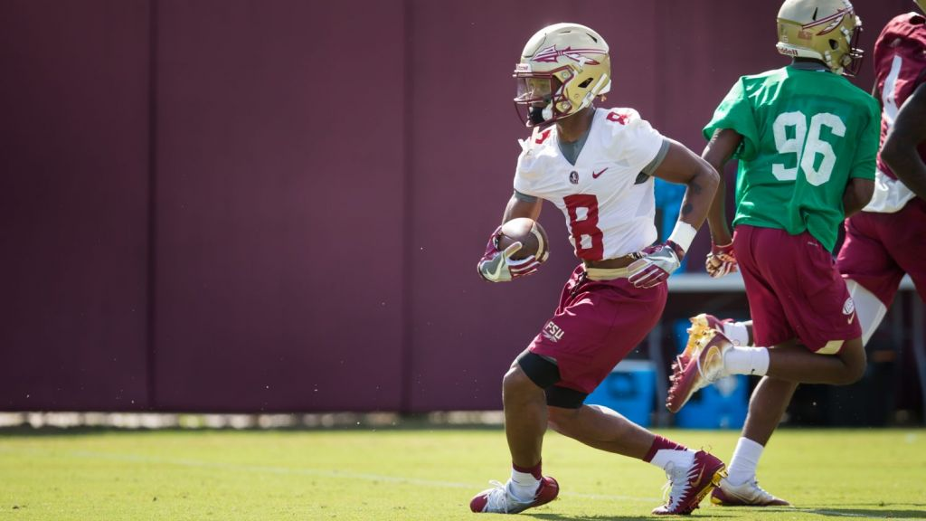 Tate Confident In Noles' New-Look Receiving Corps