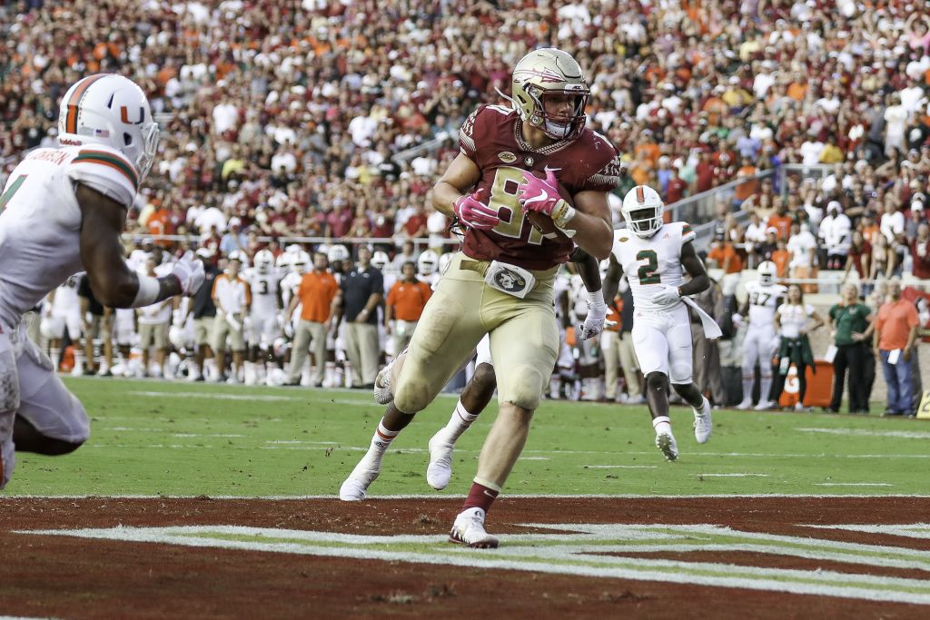 Noles Fighting For Inches As Duke Approaches