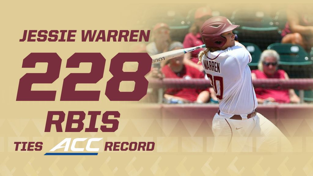 Jessie Warren Ties ACC Record As FSU Tops Alabama/Georgia State