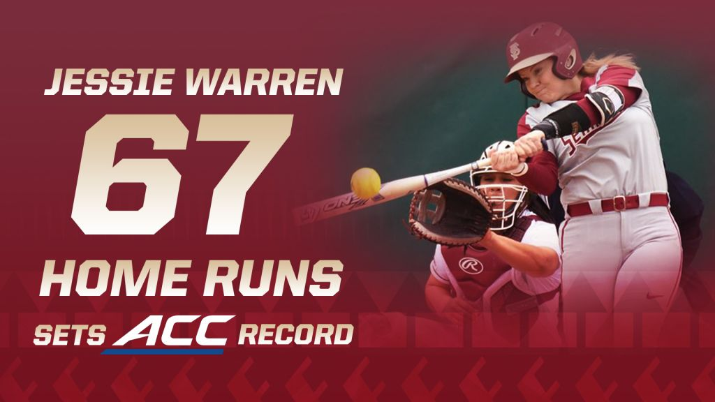 Warren Has Record Night As Noles Split Doubleheader