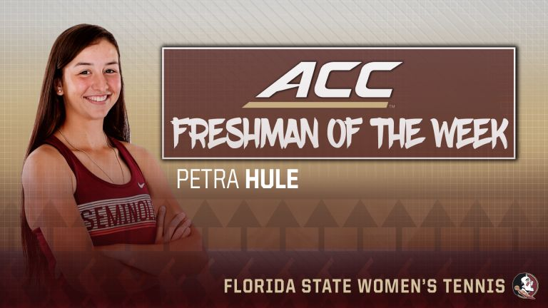 Garcia and Hule Sweep ACC Honors
