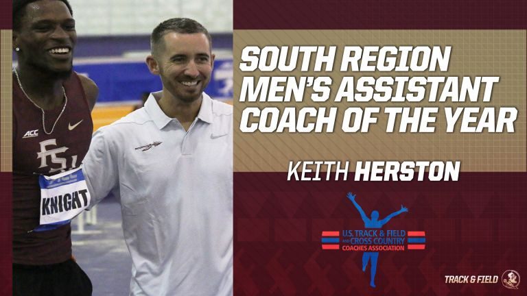 Track & Field Pair Selected Top South Region Assistants