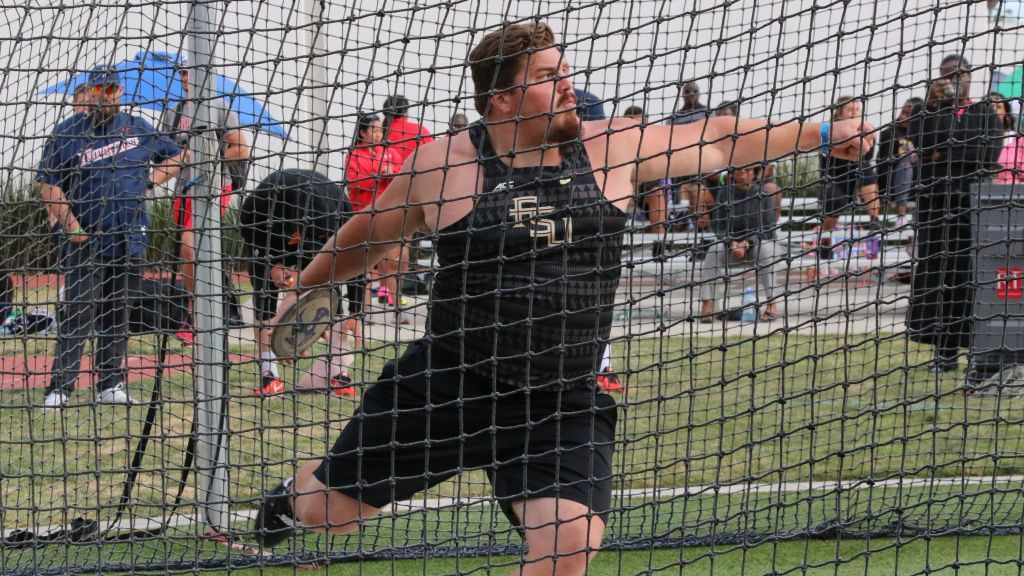 Zarankaite Joins Love In NCAA Discus Top 10