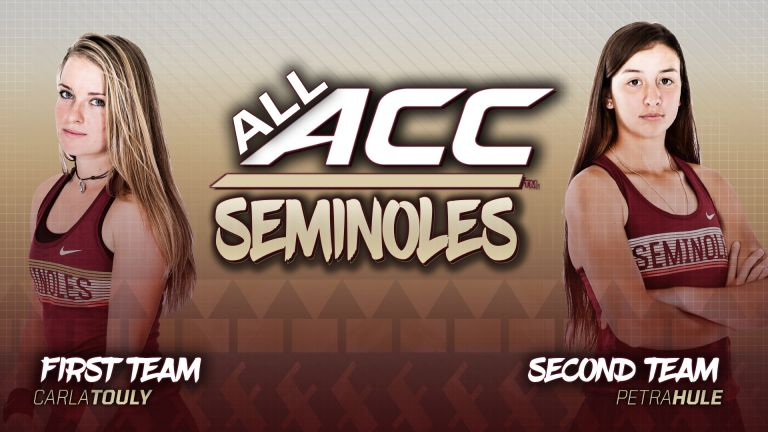 Touly, Hule Earn All-ACC Honors