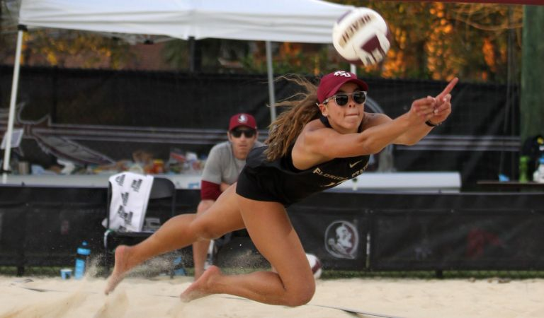 Freire, Paranagua Named AVCA Beach All-Americans