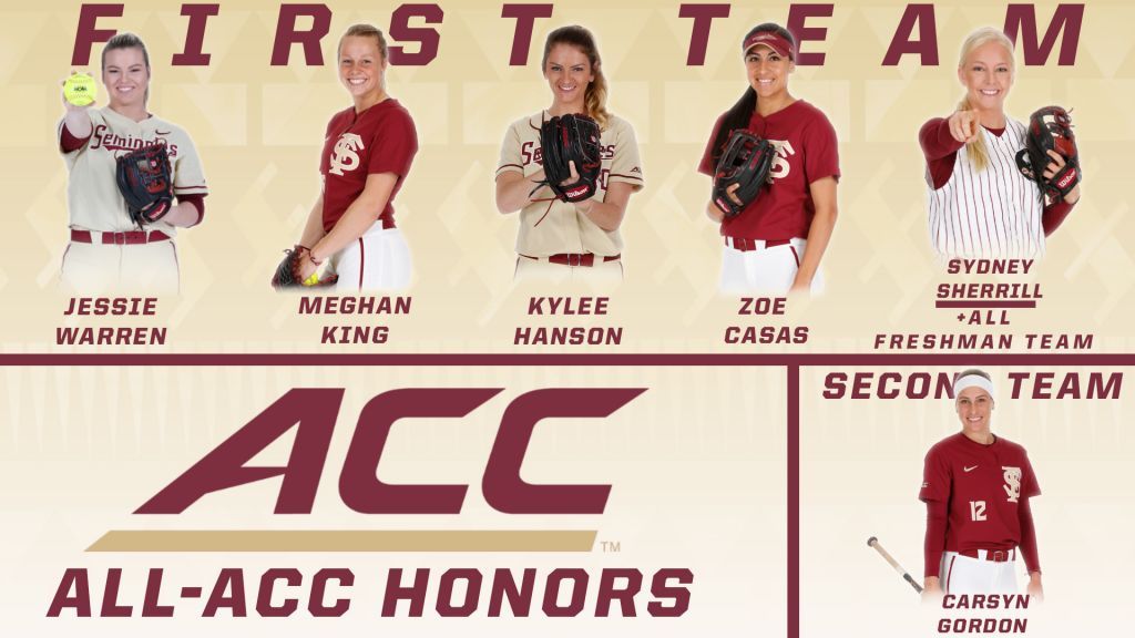 Seminoles Place Six On 2018 All-ACC Teams