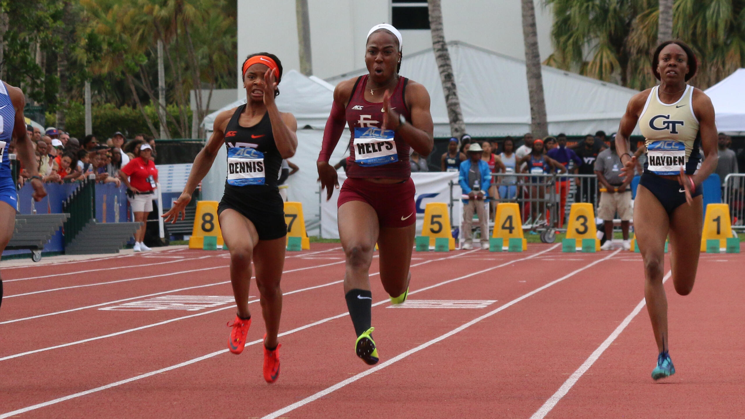 Shauna Helps is a three-time All-ACC Academic selection for the FSU women in outdoor track & field.