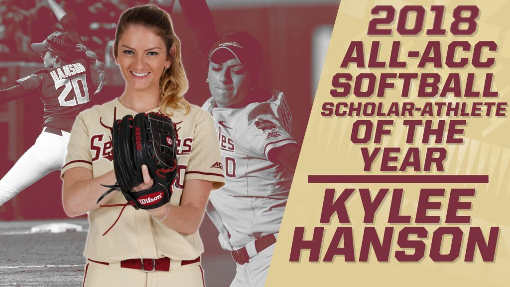 Kylee Hanson Named ACC Scholar-Athlete Of The Year; Four Noles Honored