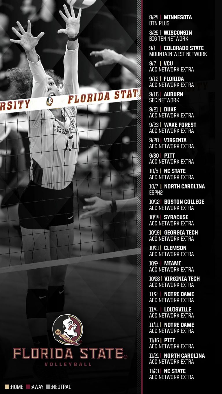 Volleyball Announces 2018 Broadcast Schedule