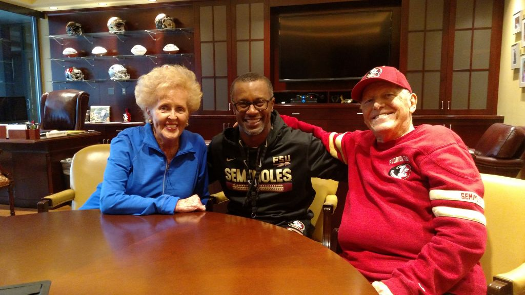 Inspired By Taggart, Al And Judy Dunlap Make Major Commitment To FSU