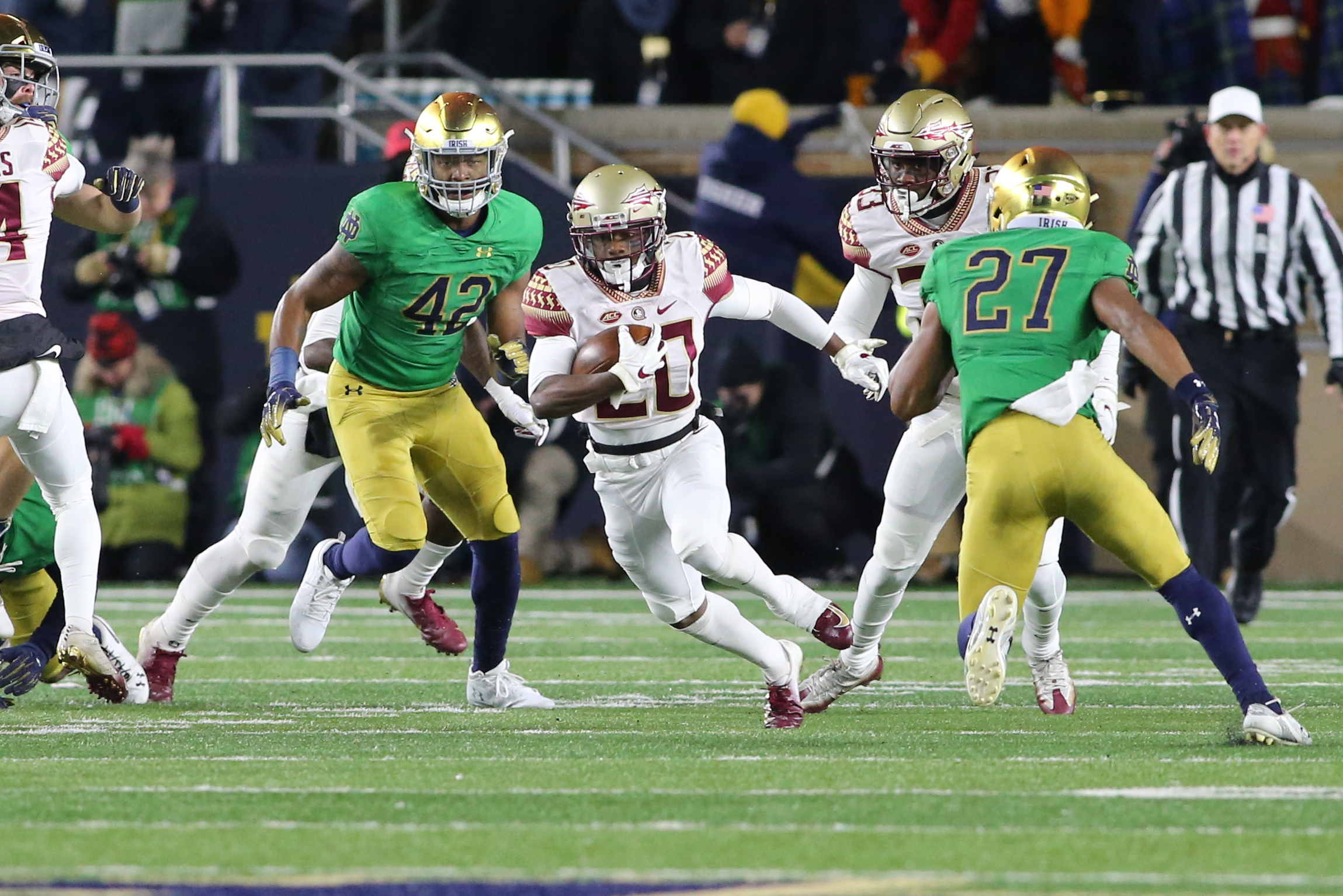 Photos: FSU at Notre Dame