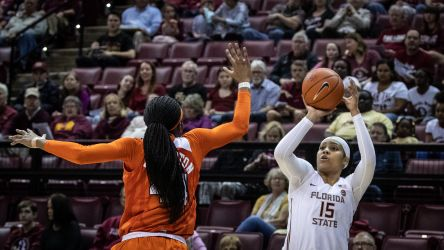 Florida State Falls to Clemson in ACC Home Opener, 57-45
