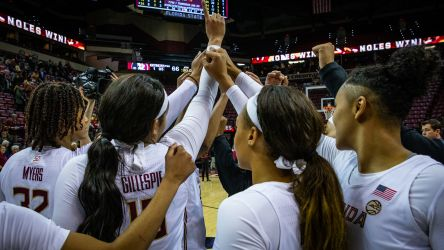 Noles Hold On for Fourth Conference Win