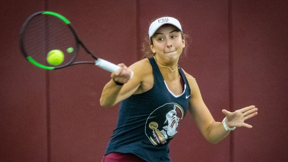 No. 15 Women's Tennis Squares Off in a Top-20 Match-up Against UCF