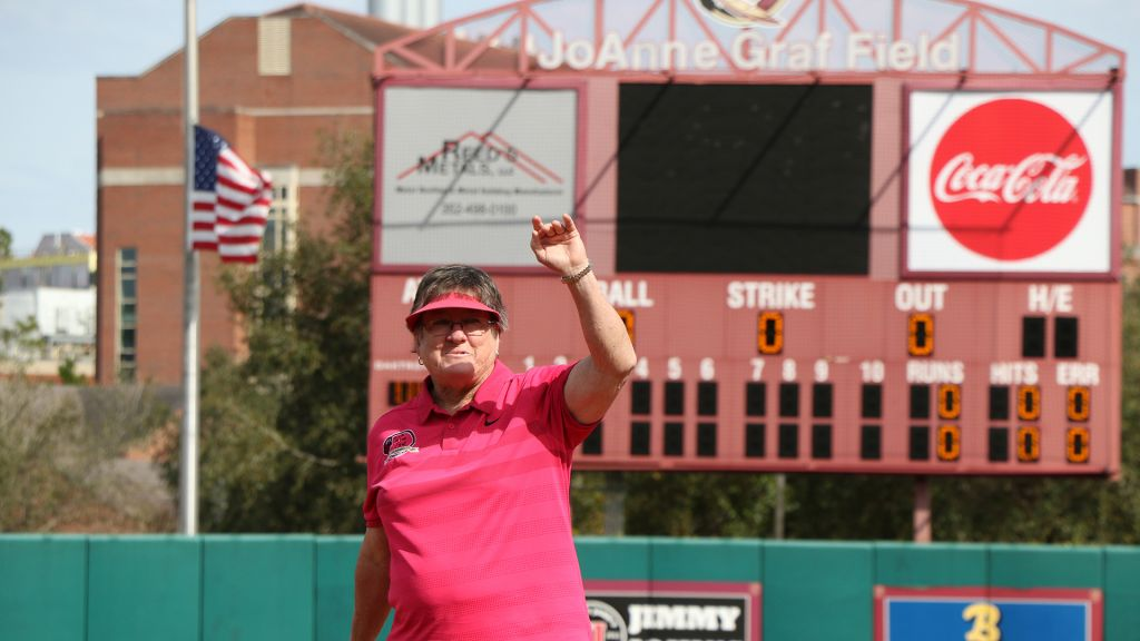 No. 1 Softball Shuts Out UNCG And Iowa State On Saturday At JoAnne Graf Classic