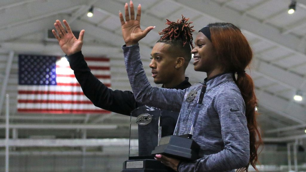 Men Rally To ACC Indoor Title; Women Heart-Broken