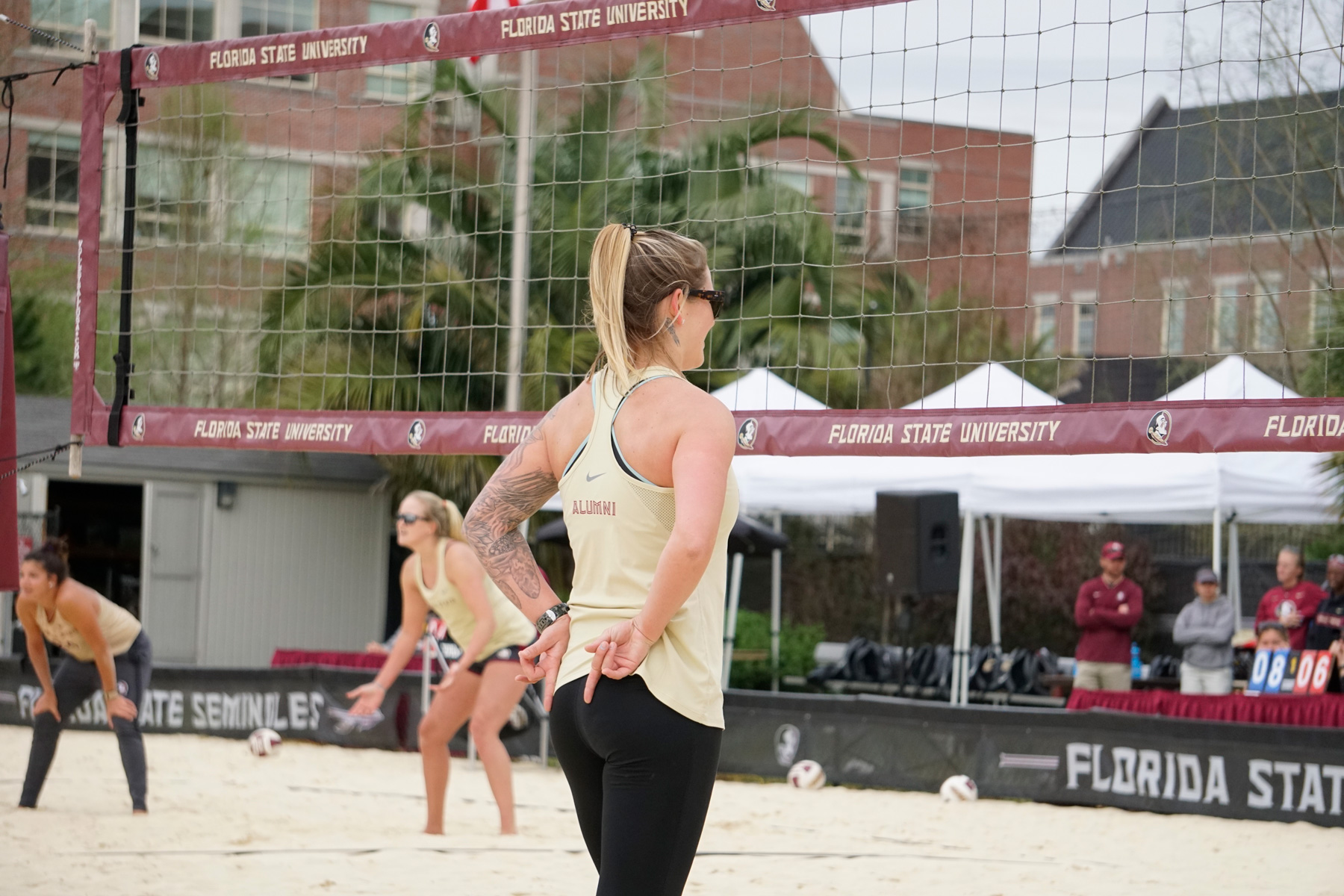 📸: Beach Volleyball Alumni Weekend