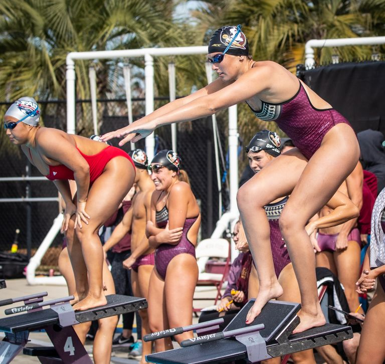 Women's Swim & Dive Enjoys All-Around Success in 2018-19