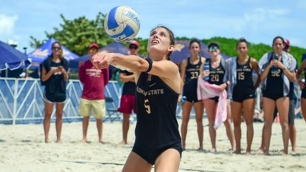 Beach Sweeps Southern Miss