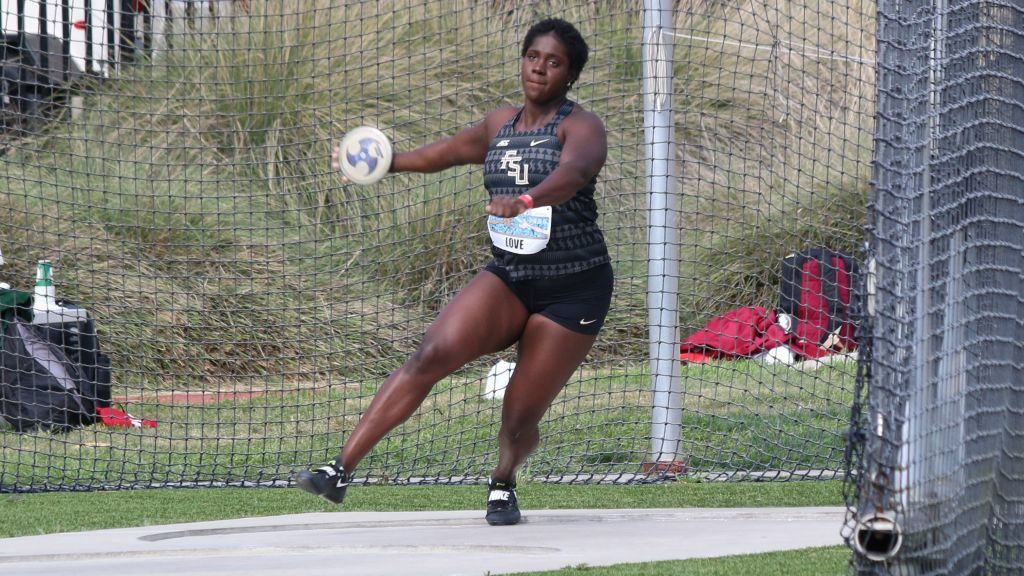 Jones Sails To FSU Record; Cunningham, Lawrence Also Win