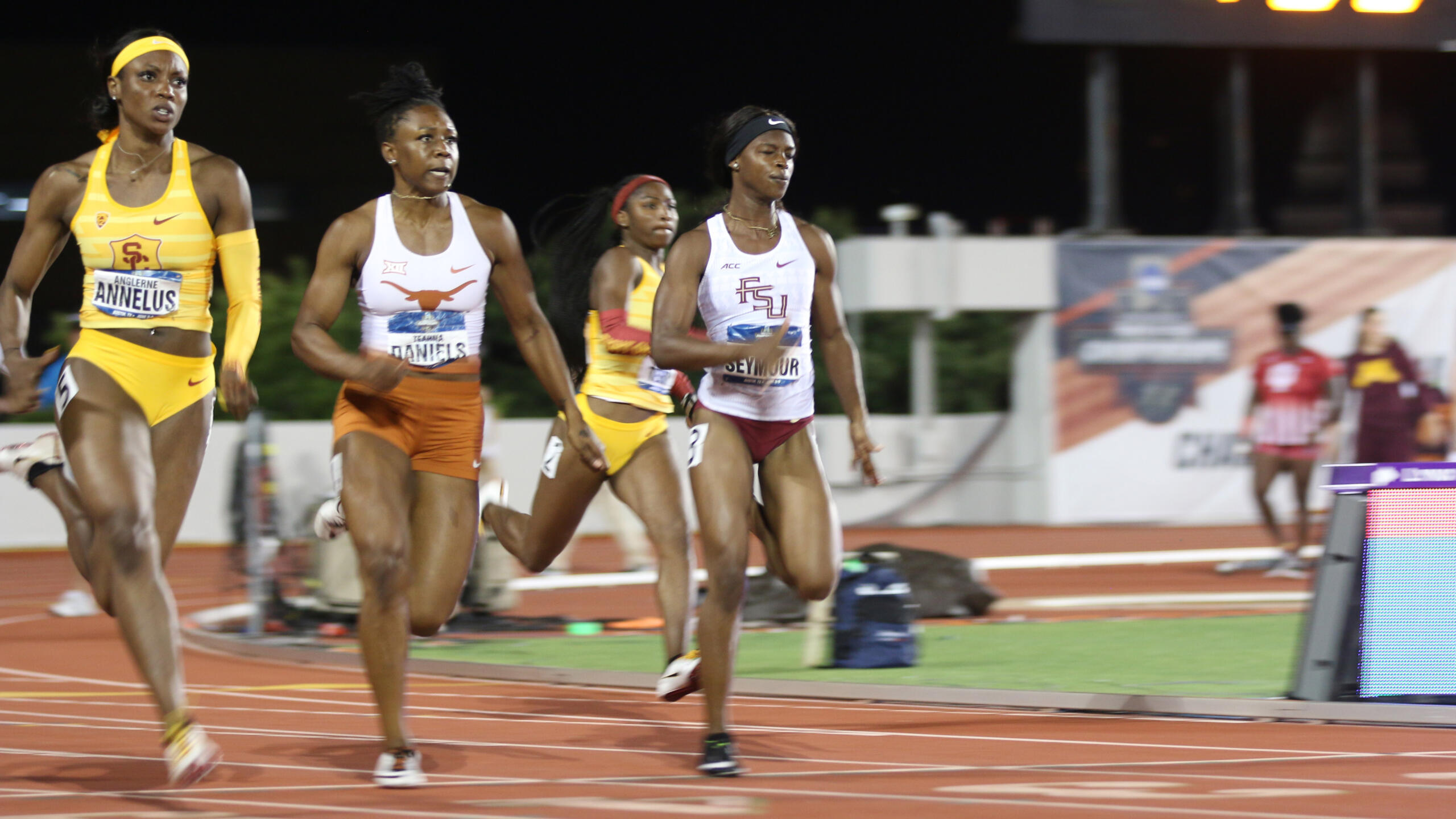 Two School Records Fall; Sow Finishes Fifth