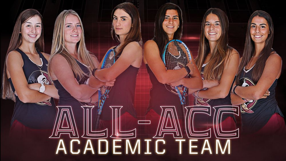 Women's Tennis Places an ACC High Six on the All-ACC Academic Team