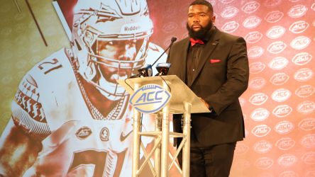 Marvin Wilson ACC Kickoff Press Conference