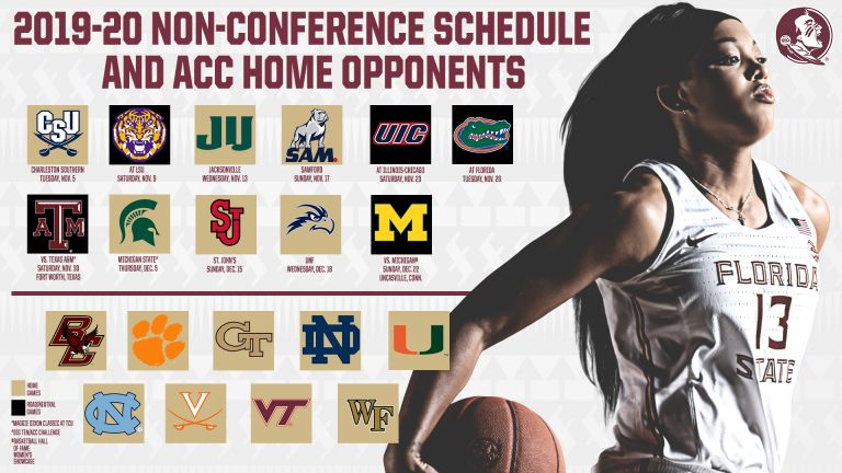 Women's Hoops Announces Non-Conference Slate