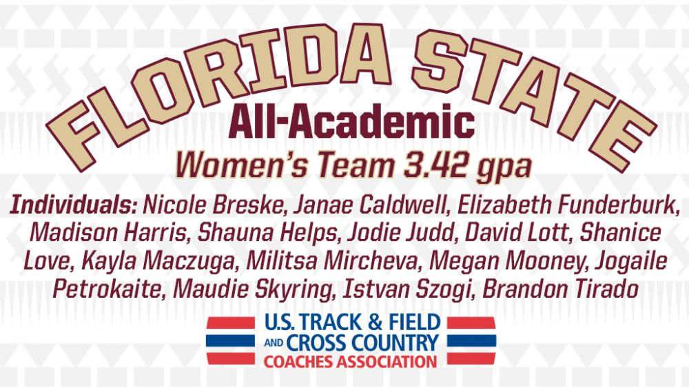 Noles Women Among Very Best Academically In Division I